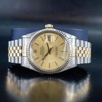 Rolex 16013 Золото/Cталь 1987 Datejust 36mm подержанные
