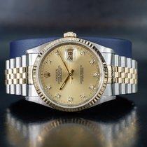 Rolex 16233 Золото/Cталь 1990 Datejust 36mm подержанные