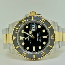 Rolex Submariner Date Gold/Steel 41mm Black No numerals United States of America, New York, Massapequa