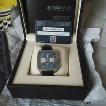 TAG Heuer Monaco Calibre 12 occasion 39mm Bleu Chronographe