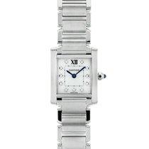 Cartier (カルティエ) タンク フランセーズ WE110006 良い ステンレス 20mm クォーツ 日本, Taito-ku Tokyo