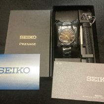 Seiko Presage Steel 39.3mm Brown No numerals United States of America, New Jersey, Fords