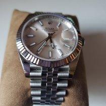 Rolex (ロレックス) Datejust 新品 自動巻き 正規のボックスと正規の書類付属の時計 126334