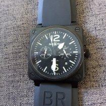 Bell & Ross BR 03-94 Chronographe Steel Black Arabic numerals