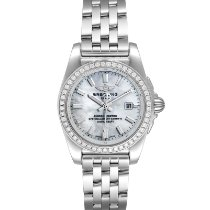 Breitling Women's watch Galactic 29mm new Watch with original box and original papers