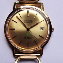 Sandoz Yellow gold 35mm Automatic pre-owned