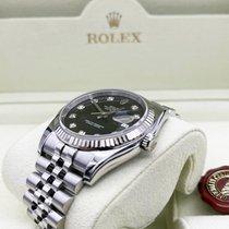 Rolex Datejust Steel 36mm Black UAE, Abu Dhabi