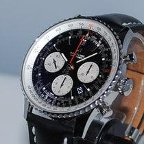 Breitling Navitimer 1 B01 Chronograph 43 Staal 43mm Zwart Geen cijfers Nederland, Vught