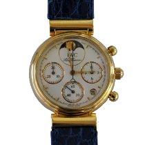 IWC IW3736 Желтое золото 1995 Da Vinci Chronograph 29mm подержанные
