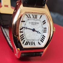 Cartier Tortue Meget god Rosa guld 28mm Manuelt