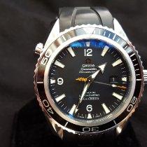 Omega Seamaster Planet Ocean Steel 45,5mm Black Arabic numerals