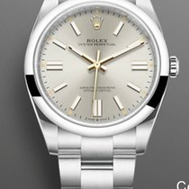 Rolex Oyster Perpetual Steel 41mm Silver No numerals United States of America, New Jersey, Oakhurst
