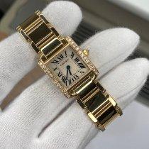 Cartier Yellow gold 20mm Quartz 2385 pre-owned