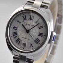 Cartier Clé de Cartier Steel 35mm Silver Roman numerals United States of America, Ohio, Mason