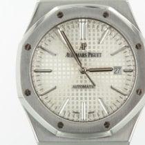 Audemars Piguet Royal Oak Selfwinding Ocel 41mm Stříbrná Bez čísel