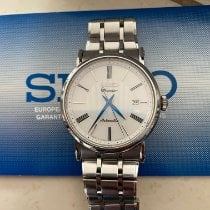 Seiko Premier Automatic Staal Zilver