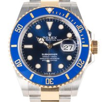 Rolex Submariner Date 126613lb Unworn Gold/Steel 41mm Automatic