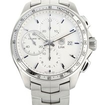 TAG Heuer Link Calibre 16 Steel 43mm White United States of America, Illinois, BUFFALO GROVE