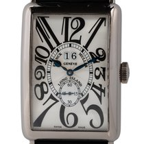 Franck Muller Long Island White gold 32mm Silver Arabic numerals United States of America, Texas, Austin