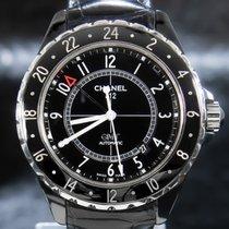 Chanel J12 Ceramic 41mm Black Arabic numerals