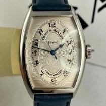 Franck Muller Casablanca White gold 32mm Silver Arabic numerals