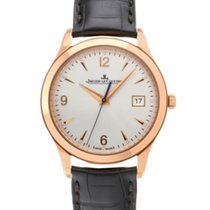 Jaeger-LeCoultre Master Control Date Rose gold 39mm Silver