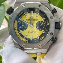 Audemars Piguet Royal Oak Offshore Diver Chronograph Acero 42mm Amarillo Arábigos