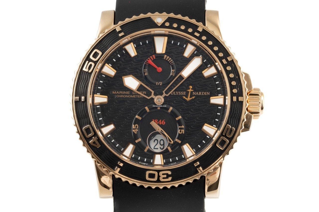 Ulysse Nardin Maxi Marine Diver 266-33 2010 pre-owned