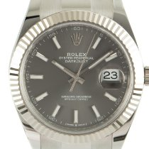 Rolex (ロレックス) Datejust 新品 2021 自動巻き 正規のボックスと正規の書類付属の時計 126334
