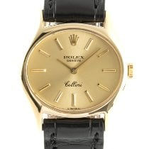Rolex Cellini 3802 Very good Yellow gold 23mm Manual winding