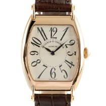 Vacheron Constantin Red gold Manual winding 36.5mm pre-owned Historiques