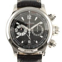 Jaeger-LeCoultre Master Compressor Chronograph pre-owned 41mm Black Chronograph Date Leather