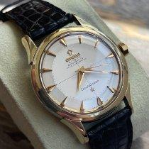 歐米茄 2852 金/鋼 1956 Constellation 35mm 二手