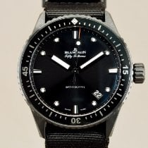Blancpain Fifty Fathoms Bathyscaphe Ceramic Black No numerals