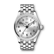IWC Pilot's Watch Automatic 36 Steel 36mm Silver Arabic numerals