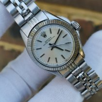 Rolex Oyster Perpetual pre-owned 24mm White Steel