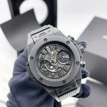 Hublot Big Bang Unico Ceramic 45mm Transparent Arabic numerals UAE, Abu Dhabi
