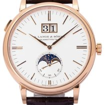 A. Lange & Söhne 384.032 Rose gold 2021 Saxonia 40mm pre-owned