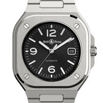 Bell & Ross Steel 40mm Automatic BR05A-BL-ST/SST new