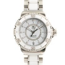 TAG Heuer Formula 1 Lady Acero 37mm Blanco