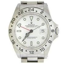 Rolex Explorer II Steel 40mm White No numerals United States of America, New York, New York