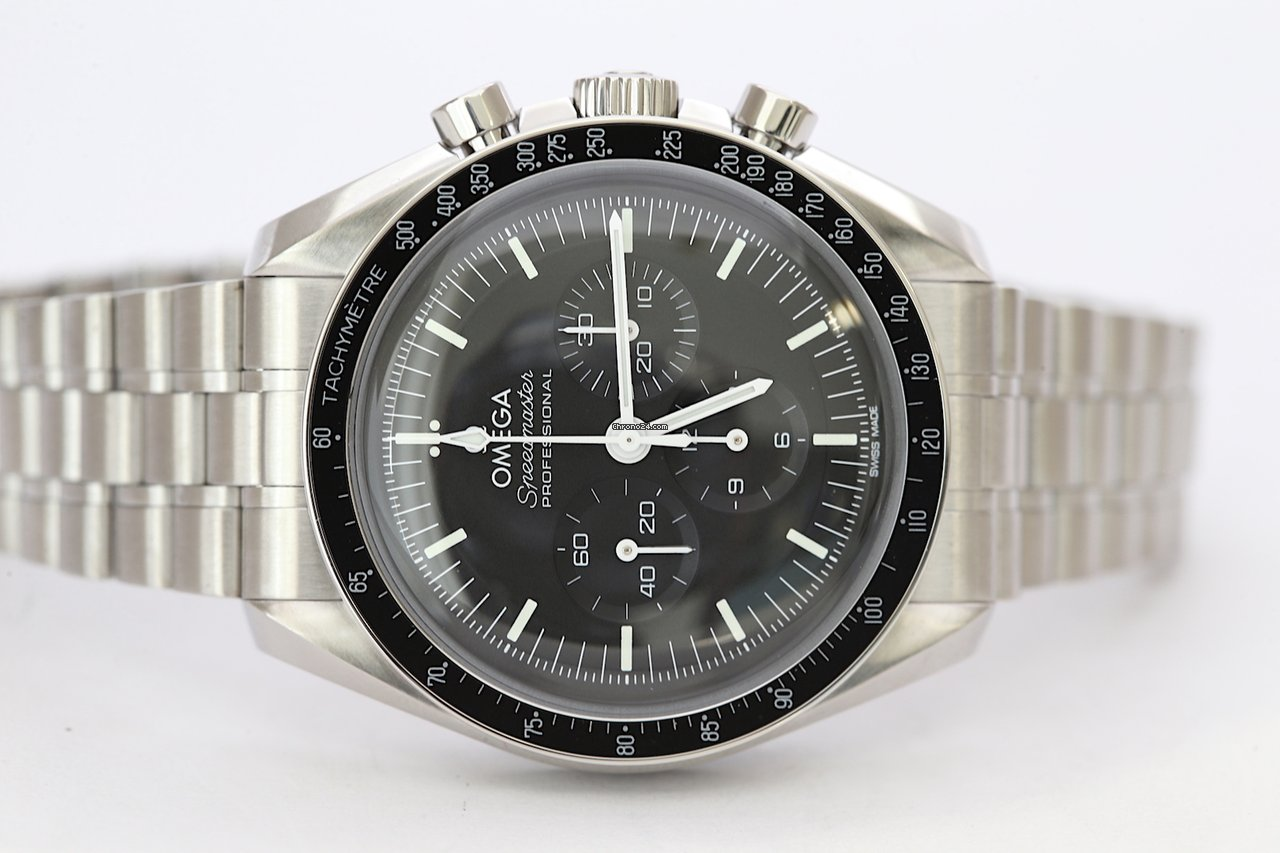 Omega Speedmaster Professional Moonwatch 310.30.42.50.01.001 2021 nuovo