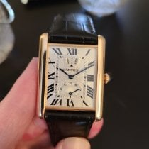 Cartier Tank Louis Cartier Rose gold 30mm Silver Roman numerals United States of America, Illinois, Chicago