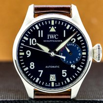 IWC Big Pilot Steel 46mm Arabic numerals