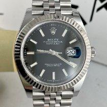 Rolex Datejust II Stahl 41mm Schwarz Schweiz, Roveredo