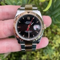 Rolex Datejust Turn-O-Graph Gold/Steel 36mm Black No numerals United States of America, California, Los Angeles