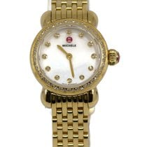 Michele CSX Gold/Steel 26mm Mother of pearl United States of America, New York, New York