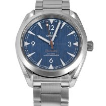 Omega Seamaster Railmaster Steel 40mm Blue Arabic numerals United States of America, Maryland, Baltimore, MD