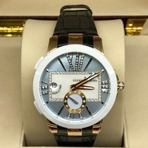 Ulysse Nardin 246-10-3/391 Rose gold 2017 Executive Dual Time Lady 40mm new