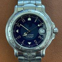 TAG Heuer 6000 Steel 38mm Blue Arabic numerals United States of America, California, Santa Monica